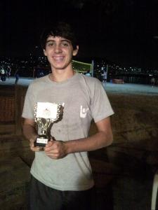 Luiz Felipe eleito melhor saque de torneio em SP