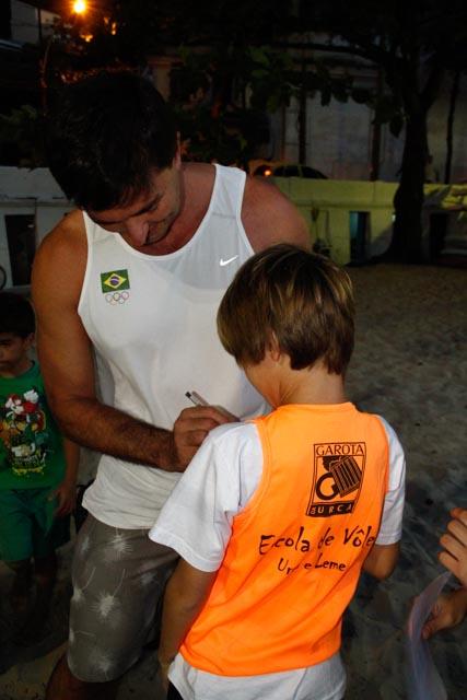 Fotos da visita do ex-atleta profissional de vôlei de praia Pará (6/6)